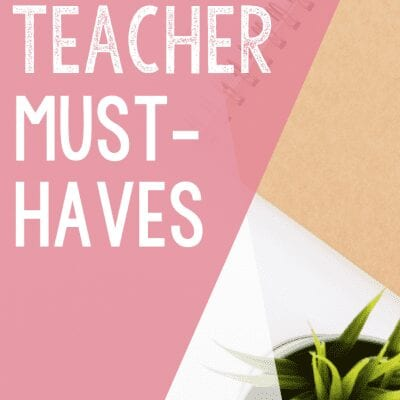 Classroom & Teacher Must Haves From Amazon