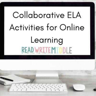 Collaborative ELA Activities for Online Learning